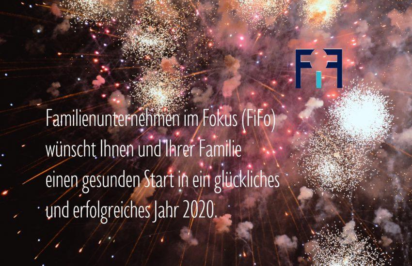 Familienunternehmen im Fokus wünscht ein gutes neues Jahr 2020