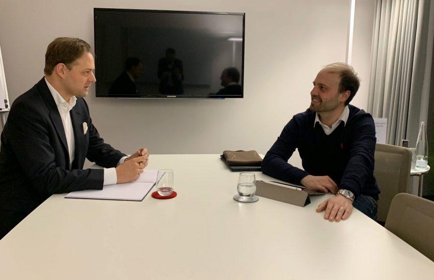 Moritz Weissman im Gespräch mit Dr. Marco Henry Neumueller