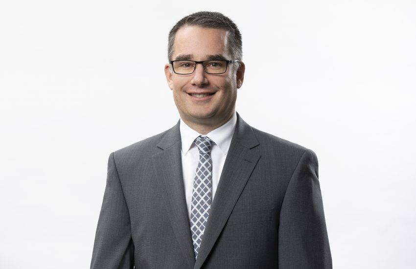 Martin Schwarz (44) zum 1. Januar 2020 zum Vorstand Produktion und Materialwirtschaft bestellt