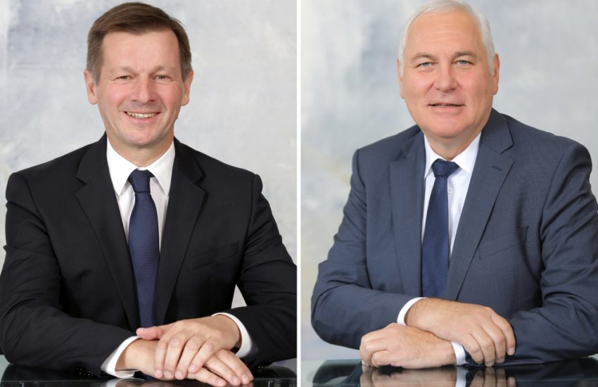 DRAXELMAIER Group Co-CEO Gall und Hasslinger