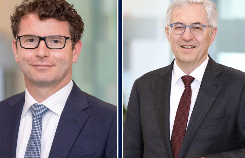 Arne Kolfenbach und Rolf Bulander (Webasto)